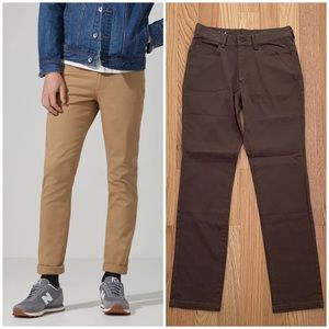 Frank and Oak The Lincoln Twill Pants Size 28